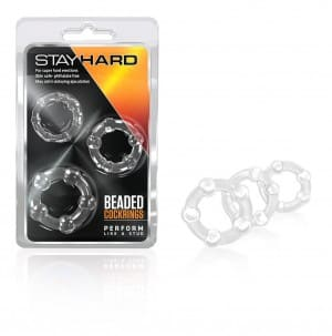 Stay Hard | Beaded Cockrings