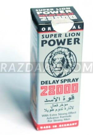 Super Lion Power 28,000 | Delay Spray