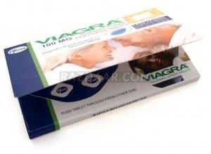 Pfizer Viagra 100mg | Pack of 6 Tablets